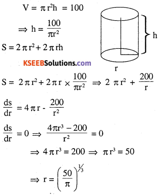 2nd PUC Maths Question Bank Chapter 6 Application of Derivatives Ex 6.5.31