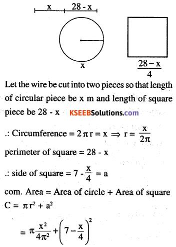 2nd PUC Maths Question Bank Chapter 6 Application of Derivatives Ex 6.5.33