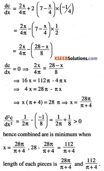 2nd PUC Maths Question Bank Chapter 6 Application of Derivatives Ex 6.5.34