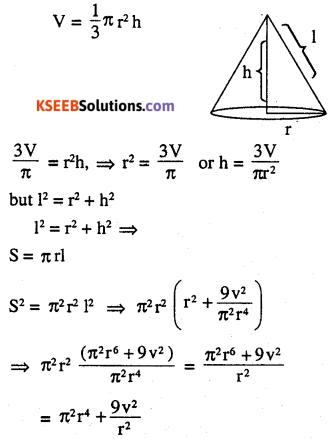 2nd PUC Maths Question Bank Chapter 6 Application of Derivatives Ex 6.5.37