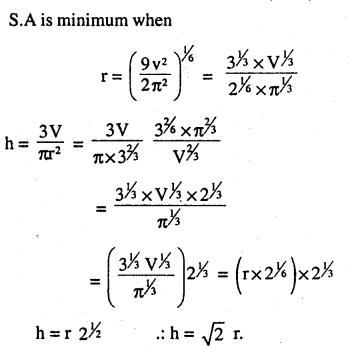 2nd PUC Maths Question Bank Chapter 6 Application of Derivatives Ex 6.5.39