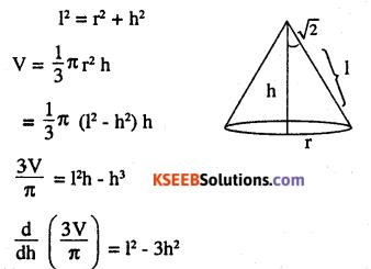 2nd PUC Maths Question Bank Chapter 6 Application of Derivatives Ex 6.5.40