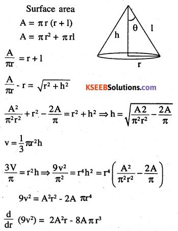 2nd PUC Maths Question Bank Chapter 6 Application of Derivatives Ex 6.5.42