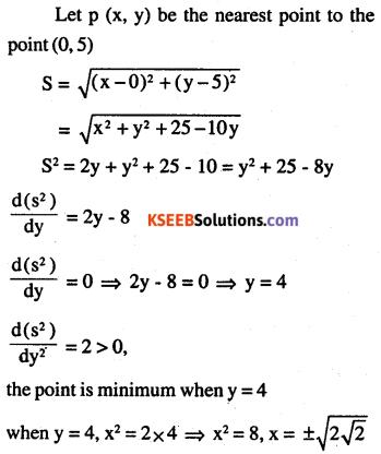 2nd PUC Maths Question Bank Chapter 6 Application of Derivatives Ex 6.5.44