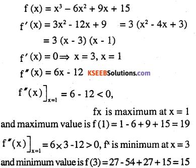 2nd PUC Maths Question Bank Chapter 6 Application of Derivatives Ex 6.5.7