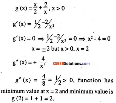 2nd PUC Maths Question Bank Chapter 6 Application of Derivatives Ex 6.5.8