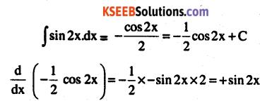 2nd PUC Maths Question Bank Chapter 7 Integrals Ex 7.1.1