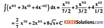 2nd PUC Maths Question Bank Chapter 7 Integrals Ex 7.1.12