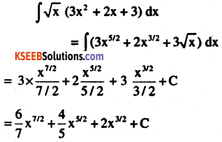 2nd PUC Maths Question Bank Chapter 7 Integrals Ex 7.1.15