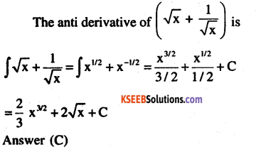 2nd PUC Maths Question Bank Chapter 7 Integrals Ex 7.1.19