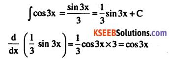 2nd PUC Maths Question Bank Chapter 7 Integrals Ex 7.1.2