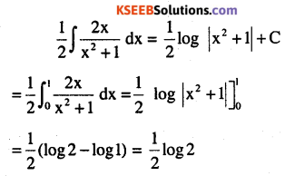 2nd PUC Maths Question Bank Chapter 7 Integrals Ex 7.10.1