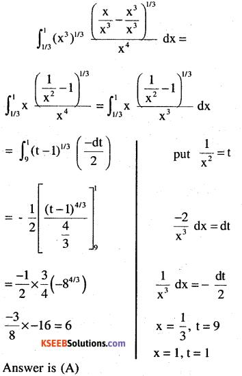 2nd PUC Maths Question Bank Chapter 7 Integrals Ex 7.10.11