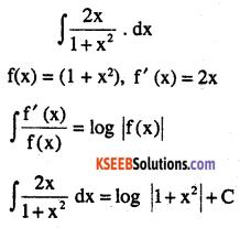 2nd PUC Maths Question Bank Chapter 7 Integrals Ex 7.2.1