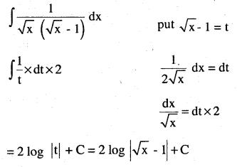 2nd PUC Maths Question Bank Chapter 7 Integrals Ex 7.2.11