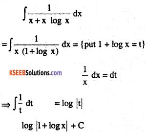2nd PUC Maths Question Bank Chapter 7 Integrals Ex 7.2.3