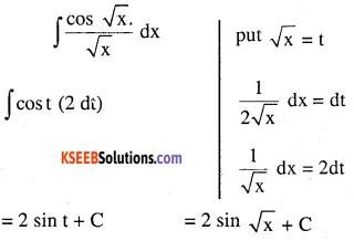 2nd PUC Maths Question Bank Chapter 7 Integrals Ex 7.2.30