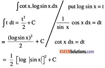 2nd PUC Maths Question Bank Chapter 7 Integrals Ex 7.2.33