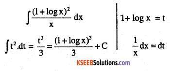 2nd PUC Maths Question Bank Chapter 7 Integrals Ex 7.2.40