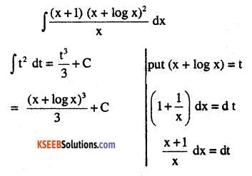 2nd PUC Maths Question Bank Chapter 7 Integrals Ex 7.2.41