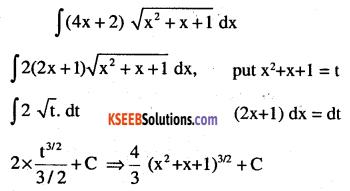 2nd PUC Maths Question Bank Chapter 7 Integrals Ex 7.2.9