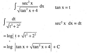 2nd PUC Maths Question Bank Chapter 7 Integrals Ex 7.4.10
