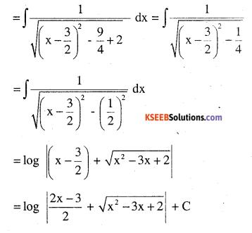 2nd PUC Maths Question Bank Chapter 7 Integrals Ex 7.4.15