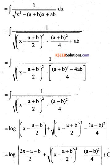 2nd PUC Maths Question Bank Chapter 7 Integrals Ex 7.4.18