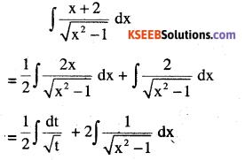 2nd PUC Maths Question Bank Chapter 7 Integrals Ex 7.4.20