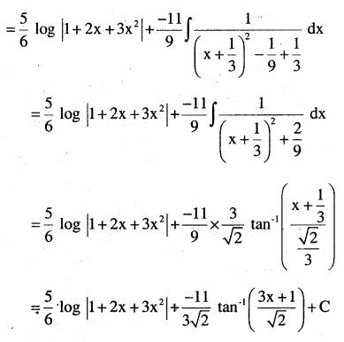 2nd PUC Maths Question Bank Chapter 7 Integrals Ex 7.4.23