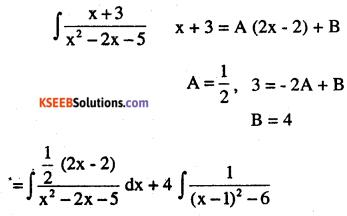 2nd PUC Maths Question Bank Chapter 7 Integrals Ex 7.4.28