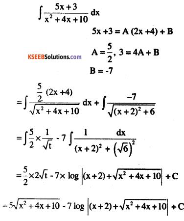 2nd PUC Maths Question Bank Chapter 7 Integrals Ex 7.4.30