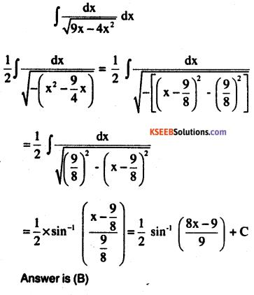 2nd PUC Maths Question Bank Chapter 7 Integrals Ex 7.4.32