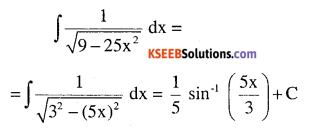 2nd PUC Maths Question Bank Chapter 7 Integrals Ex 7.4.5