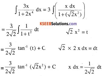 2nd PUC Maths Question Bank Chapter 7 Integrals Ex 7.4.6
