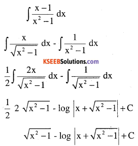 2nd PUC Maths Question Bank Chapter 7 Integrals Ex 7.4.8