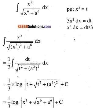 2nd PUC Maths Question Bank Chapter 7 Integrals Ex 7.4.9