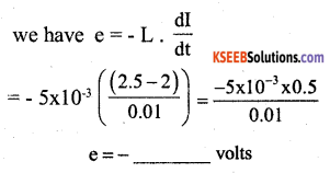 2nd PUC Physics Model Question Paper 1 with Answers 3