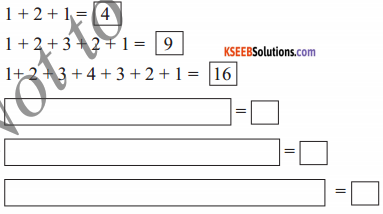 KSEEB Solutions for Class 5 Maths Chapter 10 Patterns 3