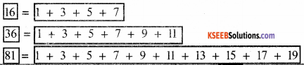 KSEEB Solutions for Class 5 Maths Chapter 10 Patterns 5