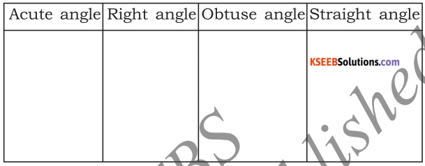 KSEEB Solutions for Class 5 Maths Chapter 6 Angles 20