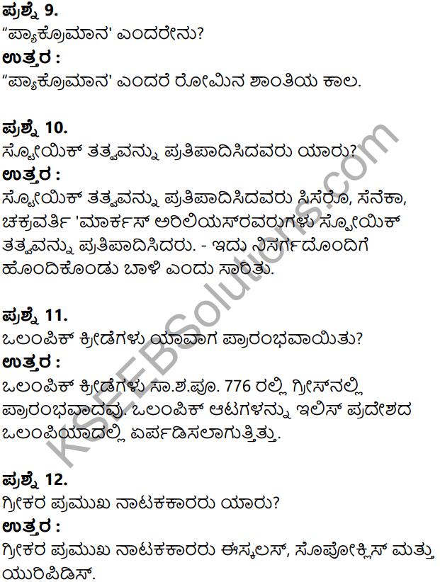 KSEEB Solutions for Class 8 History Chapter 5 Grik Roman Hagu Amerikada Nagarikathe in Kannada 12