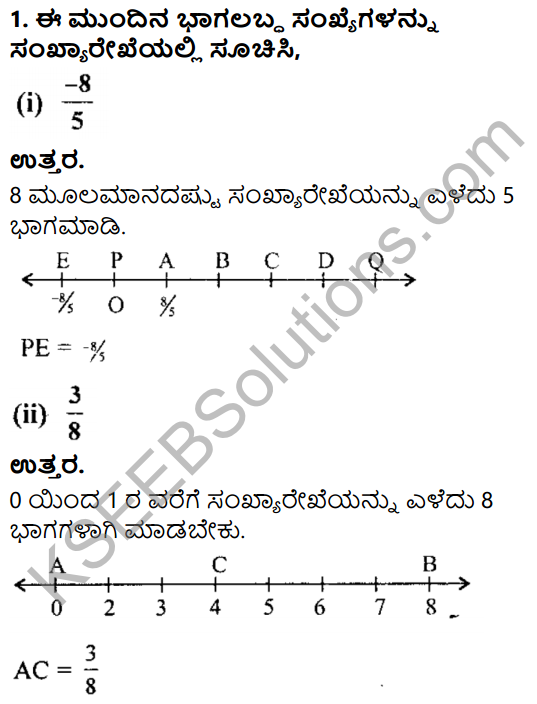 KSEEB Solutions for Class 8 Maths Chapter 7 Bhagalabdha Sankhyegalu Ex 7.4 1