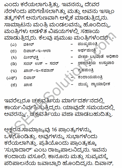 2nd PUC History Question Bank Chapter 5 Medieval Period in Kannada 54