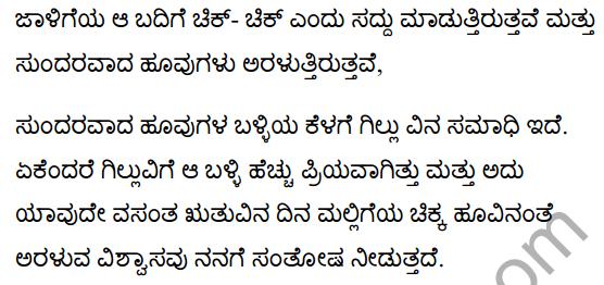 गिल्लू Summary in Kannada 8