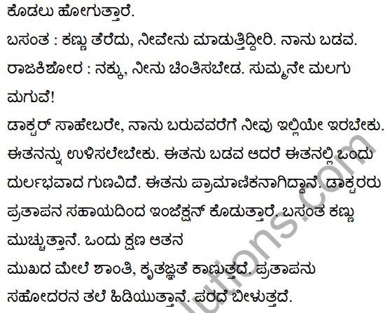 बसंत की सच्चाई Summary in Kannada 10