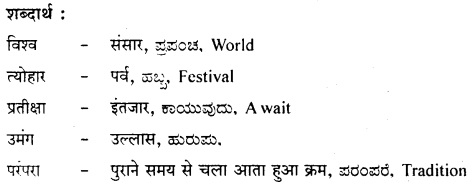 भारतीय त्योहार Summary in Kannada 4