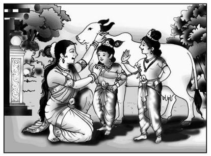 सूर-श्याम Summary in Hindi 1