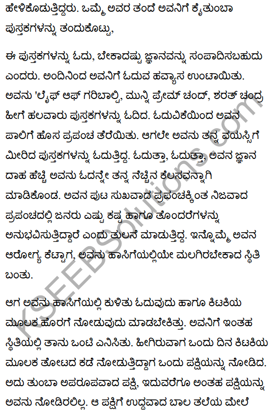 Colours of Silence Summary in Kannada 5