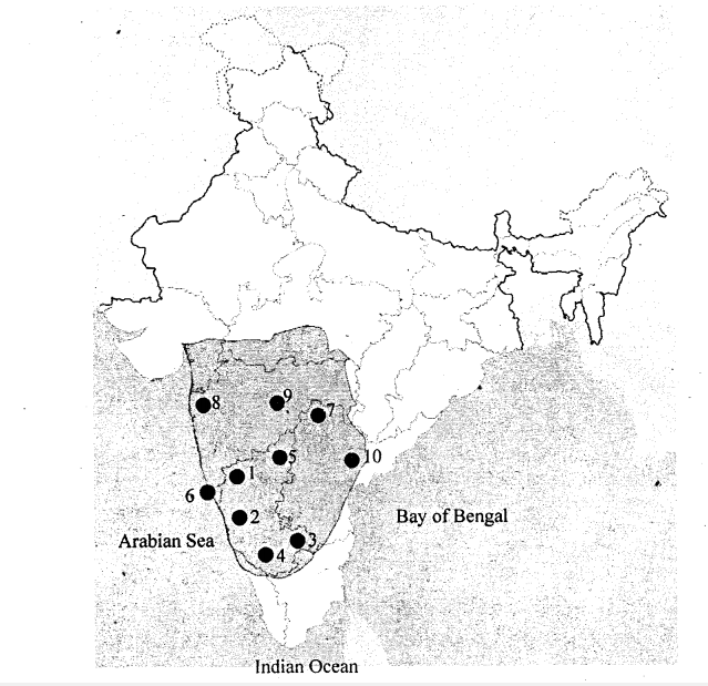 KSEEB Solutions for Class 8 History Chapter 10 The Chalukyas of Badami and the Pallavas of Kanchi